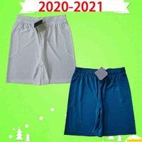 20 21 Ibrahimovic AC Fussball Shorts 2020 2021 Calhanoglu Milan Brahim Rebic Theo Tonali Mens Fußballhose Romagnoli Zuhause White Blue