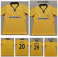 09 10 Wolves Retro Futebol Jerseys 2009 2010 Casa Doyle Milijas Berra Henry Ebanks-Blake Kightly Vintage Clássico Camisas de futebol Tailândia
