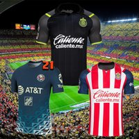 21 22 Club America Soccer Jerseys Uanl Tigres 2021 2022 Chivas Guadalajara MX Liga Football Shirt Mailleots De Foot