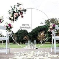 Party Decoration 150cm Round Balloon Arch Holder Bow Of Circle Wreath Stand Wedding Birthday Decor Baby Shower Background