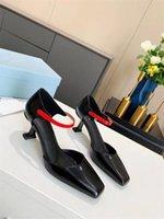 2021 Moda Girl New Abbigliamento T-show T-Show di alta qualità Tacco alto Scarpe formali Sexy Scarpe da festa Sexy Tacco alto 7.5 Scarpe nozze nobili 35-41