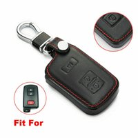 Fit Toyota 4Runner Tacoma 3 Boutons Cuir Smart Remote Key Cover Cover Cover