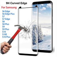 Full Curved Screen Protector For Samsung Galaxy S6 S7 Edge S8 S9 Plus S10E S10 + Safety Film