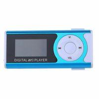 MP4 اللاعبين شاشة LCD المعادن مصغرة مشغل مشغل MP3 مع الموسيقى الصغيرة TF / Slot المحمولة