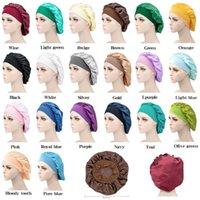 Night Sleep Hat Hair Care Cap Women womens designer hats Fashion Satin Bonnet cap Silk Head Wrap Hair Loss Caps Accessories