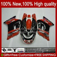 Kawasaki Ninja Orange Blk New ZZR-250 Body 54HC.166 ZZR 250 CC 1994 1995 1996 1997 1998 1999 ZZR250 90 91 92 93 94 95 96 97 98 99 페어링