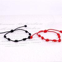Red Rope Bracelet Red String Knot Bracelet Red Lucky Love Coupple Bracelet Adjustable Size Best Gift For Lovers 2928 Q2