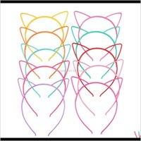 Bébé Party Props Sexy Cat Black Cat Earys Fille Headwear Lady Scyzish Hair Hoop Accessoires pour femme Bandeau à cheveux Enfants Band 33Rvo Glmoh