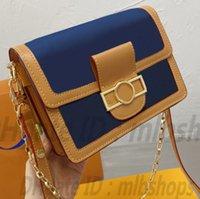 Top qualität l luxurys designer taschen mode damen crossbody ketten handtasche damen totes cowboy daphne tasche geldbörse 2021 kreuzkörper handtaschen am beliebtesten