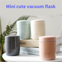 250ML Stainless Steel Mini Braised Beaker Food Thermoses for Kids Lunch Box Portable Soup Containers Vacuum Flasks Thermocup Thermos