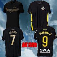 Top Quality 21 22 130 Anni Jersey di calcio Nero Golden PapagianNopoulos Rogic Larsson Tihi 2021 2022 AIK 130th Anniversary Home Camicia calcio