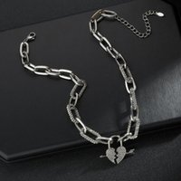 Pendant Necklaces Stainless Steel Sliver Arrow Pierced Necklace Women Chain Jewelry Accessories Valentine Day Girlfriend Gift
