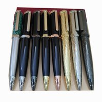 Designer Boutique Pen With Stamp Metal Pens Oblique head hollow Ballpoint-Pen Luxury Business gifts