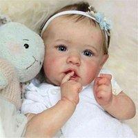 Real Girl Sile Doll, Bambino Bambola Bounce, Grey Eyes, Saskia