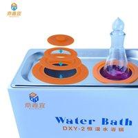 Laboratuvar malzemeleri DXY dijital termostat su banyosu laboratuvar ısıtma cihazı kuru yanma önleme 2/4/6 delik