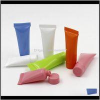 Aufbewahrungsgläser 1 STÜCKE 5ML Leerer Nachfüllbare Kunststoffröhrchen Probe Kosmetische Mini-Container-Lotionen Verpackungsflaschen für Gesichts-Shampoo FKKV3 3G65W