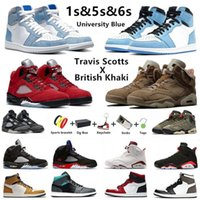 air jordan British Khaki Travis Scotts x Jumpman 6 zapatillas de baloncesto para hombre Raging Bull 5s University Blue Hyper Royal 1 Anthracite 5 Carmine 6s deportivas