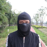 Cycling Caps & Masks Outdoor Sun Protection UV Quick-Drying Helmet Lining Head Cover Warm Mask Hat