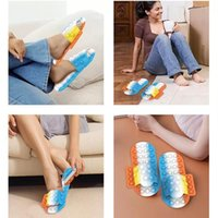 Fidget Slippers Push Bubble Shoe Toys New Silicone Decompression Toy Loafer