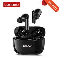 Lenovo XT90 Auriculares inalámbricos TWS Auriculares Bluetooth 5.0 Auriculares deportivos Toque Botón IPX5 Earplugs a prueba de agua con caja de carga de 300mAh