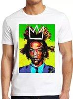 Jean Michel Basquiat Graffiti Art Art Vintage Presente Fresco Camiseta 4178