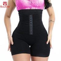 Transiner de cintura para mujer Shapewear Control de la barriga Shorts Shorts Hi-Weaver Bulifter muslo Slimmer Adelgazar Hebilla Bragas Formadores de mujeres