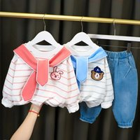 Clothing Sets 2021 Spring Autumn Baby Boys Tshirt And Pant