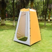 Tents And Shelters Outdoor Shower Bathing Tent Changing Room Waterproof Sun-Shading Instant Shelter Camp Toilet Dressing Quickly Open