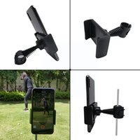 Golf Training Aids Swing Record Phone Holder Cell Clip Stand Support Bracket Rotatable Accessories G3C6