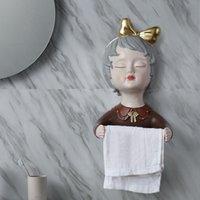 Boîtes de mouchoirs pour boîtes de mouchoir pour bébés créatifs fille de modélisation rouler porte-papier ornements rack de toilette Accueil Salle de bain Décor Craft