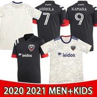 2021 Washington DC Soccer Jersey Wayne Rooney Ola Kamara 7 Ulises Segura 9 Paul Arriola Asad Frederic Brillant Football Shirt