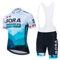 Bora Motorcade с коротким рукавом Летняя горная велосипедная дорожная рубашка велосипедный костюм