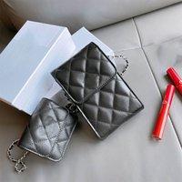 2021 النساء المصممين الفموي أكياس الهاتف سلاسل البسيطة الأزياء حقيبة الكتف حقائب اليد عملات crossbody محفظة عملة محفظة مفتاح الحقيبة