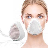 قناع Electric PM2.5 مارك مكافحة الذكية الغبار الطفل الوجه أقنعة التنفس مع 5 مرشحات 3LEP