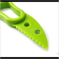 Vegetable Tools 3In1 Avocado Slicer Fruit Cutter Corer Pulp Separator Shea Butter Knife Kitchen Helper Accessories Gadgets Cooking Ewe F3Ct0