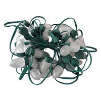 Modules 200pcs LED Christmas Light String S24 C9 Addressable WS2811 12V Technicolor Pixel Module Green Wire And Case;IP67