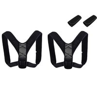 Back Support Adjustable Posture Corrector Invisible Women Men Belt Shoulder