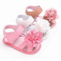 Fashion Baby Girl Sandals Baby Shoes Newborn Cotton Flower Children Sandals Summer Girl Shoes new O5xJ#