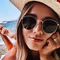 3447 Moda Metal Sunglasses Mulheres Quadro Retrato Retro Sunglasses Cor Filme Sunglasses Moda Europeia e Americana óculos