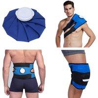 الرياضة حقيبة الجليد حزمة التفاف تخفيف الآلام علاج الباردة قابلة لإعادة الاستخدام للركبة الكتف الظهر قابل للتعديل الخصر حزام دعم # G4 الدعم