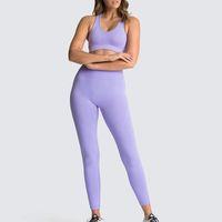 Seamless Yoga Set Sexy Woman Gym Leggings Padded Push-up Strappy Sports Bra 2 Pcs Suits Women Fitness Clothing Sportswearsoccer jerse