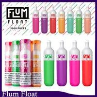 Float flum jetable 100% Quaiity e Cigarettes Kit 3000 Cuffs Vape Pen 1200mAh Dispositif de batterie 8.0ml Pré-remplie Pods Cartouche Vaporisateurs