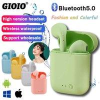 Tws Bluetooth-Kopfhörer Mini-2 Wireless Kopfhörer Wasserdichte Ohrhörer Sport Ohrhörer für Huawei iPhone Oppo Xiaomi Musik Headset
