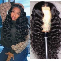 Density Loose Wave 360 Lace Frontal Wig Brazilian Remy 370 Human Hair Wigs Pre Plucked Deep Part For Women1