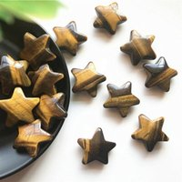 Natural Tiger Eye Crystals Star Shaped Stone Healing Gemstone1pc Decorative Objects & Figurines