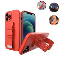 1Pcs Sports Armband Phone Cases For IPhone 11 12 Pro XS Max XR 7 8 Plus Se2020 Wristband Belt All inclusive Skin Feel Anti-fall Holder Stand Protective Cover Shell