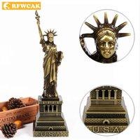 Dropshopping Statue of Liberty Modell Handwerk Tourismus Souvenirs Freie Göttin Europäische Retro- Ornamente Dekoration Zubehör