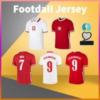 بولونيا الصفحة الرئيسية لكرة القدم جيرسي 20 21 Lewandowski Zielinski Grosicki Szymanski Glik Milik Football Shirt Tshirts
