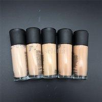 Face Makeup Foundation Liquid 35ml 고품질 직면 컨실러 형광펜 NC15-NC40 6 색