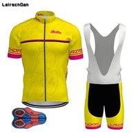 Cycling Jersey Sets SPTGRVO LairschDan Man Set 2021 Pro Clothing Bike Summer Mtb 9d Bib Shorts Ropa Ciclismo Wear Kit